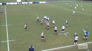 Mitch McGrath try vs Winnington Park 1st XV