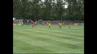 Hitchin Town FC V Tudors, 18/08/13