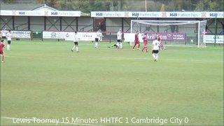 Cambridge City V Hemel Hempstaed Town FC 30th November 13