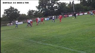 BINFIELD 0-1 BRIMSCOMBE & THRUPP - Uhlsport Hellenic Premier Division - 12th Oct 2013