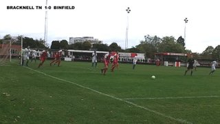 BRACKNELL TOWN 2-2 (aet 4-5 pens) BINFIELD - Bluefin Sports Challenge Cup R1 - 26th Oct 2013