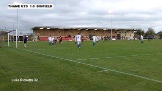 THAME UNITED 2-1 BINFIELD - Uhlsport Hellenic Premier Division - 9th Nov 2013