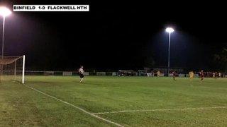 BINFIELD 1-0 FLACKWELL HEATH - Berks & Bucks FA Senior Trophy Q-Final - 18th Nov 2013