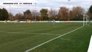 ABINGDON UNITED 0-3 BINFIELD - Uhlsport Hellenic Premier Division - 23rd Nov 2013