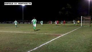 BINFIELD 2-1 WANTAGE TOWN - Uhlsport Hellenic Premier Division - 25th Nov 2013
