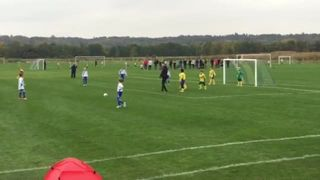 Lewis Taking a Free kick V Ascot