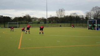 Deflected dRag flick