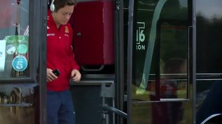 Behind the Scenes on Match day with the England Hockey Team