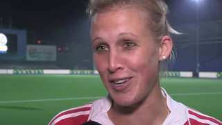Alex Danson talks to BBC Sport about reaching the 2013 Euro Hockey Final