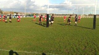 Michael McMenamin Try v Connemara (26th Feb 2011)