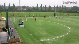 Havering's 3rd Goal v West Hampstead 6th Sept 2014 - Havering went on to win 7-4