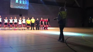 Watch the U16s Girls being Introduced at the Jan 2015 Brentwood Centre Indoor Competition