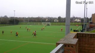 Ladies 1 Scoring a Team Effort v Old Southendians