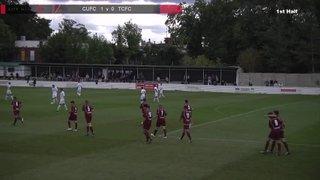 Truro City v Chesham United FC - 7th Sept 2013