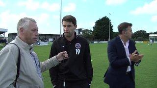 Truro City FC v Street FC (H) - Jake Ash Pre Match Interview - 14th September 2013