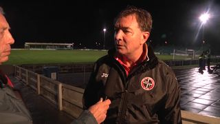 Truro City FC v Totton FC (H) - Post-Match Interview - 29th October 2013