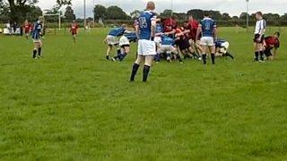 B'Money v Coleraine 7/9/13 Line out & Drive