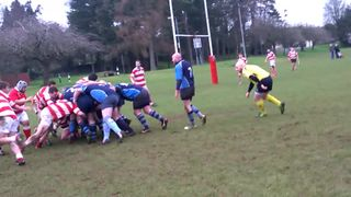 Great try against Randalstown