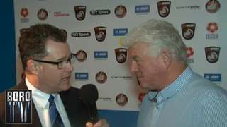 BoroTV - interview with Kirk Stevens after the Tamworth win (28th Dec 2015)