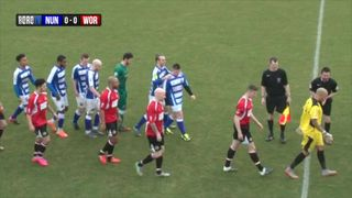 Nuneaton vs Worcester Highlights (20th Feb 2016)