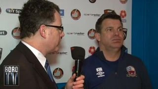 BoroTV - interview with Kevin Wilson after the Worcester Draw (20th Feb 2016)