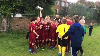 Under 12's Galaxy Cup Winners