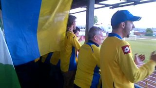 """""""Yellow-Blue Army!"""""""