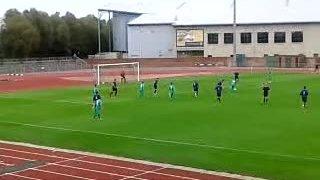 James Dixon scores at Llanwern