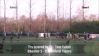 Chester RUFC Vs Sheffield TIgers