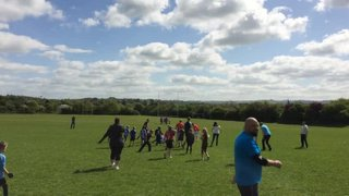 U7s Parents Vs Kids Game Clip