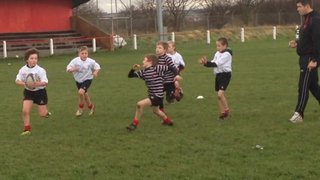 George's try at Redcar 8th Dec 2013