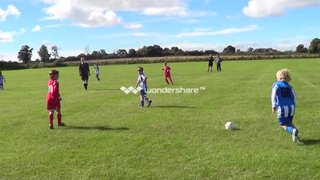 U9 Panthers v Falcons Royals 8-9-13 - chipped goal