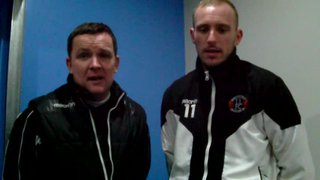Post Match Interview With Alan & Marc - Holyhead (H)