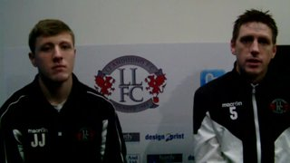 Post Match Interview With Rich & James - Porthmadog (H)
