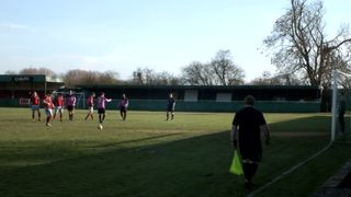 Winning Penalty Against AFC Hinksey