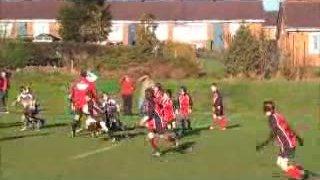Dronfield U10's vs Tupton 061111