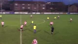 Josh Chamberlain goal v AFC Kempston Rovers