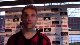 JOSH GOULD INTERVIEW FOLLOWING 4 - 1 WIN OVER GREAT WAKERING ROVERS: 6TH FEBRUARY 2016