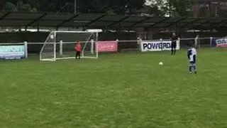 Hanwell Tournament winning penalty - Lewis T