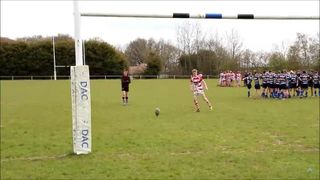 U15s v Yarnbury: conversion in 49-0 win