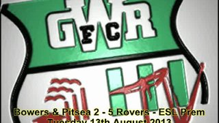 13/8/2013 - Trenkel post match interview after Rovers 5-2 away win against Bowers