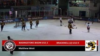 Bison U15 7 Bracknell U15 (2) 3 - 06/03/2016 - All Goals