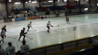 Bison U15 8 Bracknell 1 (Bison goal 2)