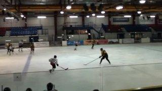 Bison U15 8 Bracknell 1 (Bison goal 3)