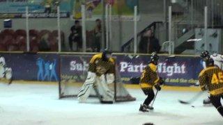 Bison U15 8 Bracknell 1 (Bison goal 4)