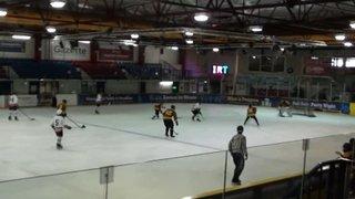 Bison U15 8 Bracknell 1 (Bison goal 6)