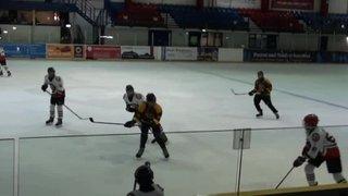 Bison U15 8 Bracknell 1 (Bison goal 7)