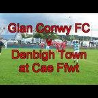 Glan Conwy v Denbigh Town at Cae Ffwt