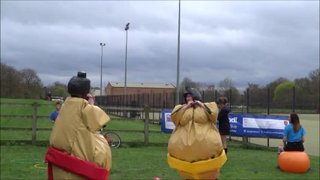 DSHC Pre Easter Easter Tournament - Sumo Bout - Greg King vs George Robertshaw