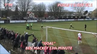 POOLE TOWN FC (0) HEMEL HEMPSTEAD TOWN FC (2)